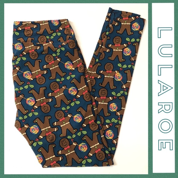 c019e90ecdd7f7 LuLaRoe Pants | Gingerbread Leggings | Poshmark